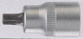 Головка с насадкой SPLINE M5 3/8'' L=50мм FORCE 3385005