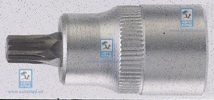 Головка с насадкой SPLINE M12 3/8'' L=50мм FORCE 3385012