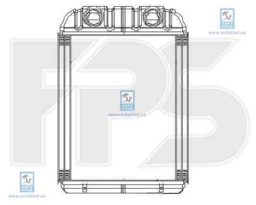 Радиатор отопителя салона FPS 12N197