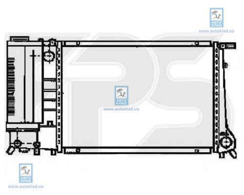Радиатор охлаждения FPS 14A02X