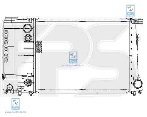 Радиатор охлаждения FPS 14A47