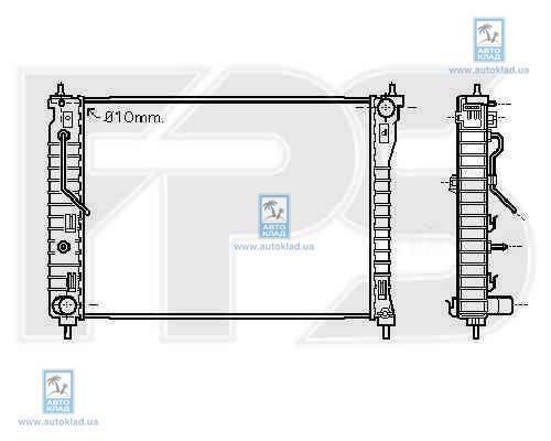 Радиатор охлаждения FPS 17A170X