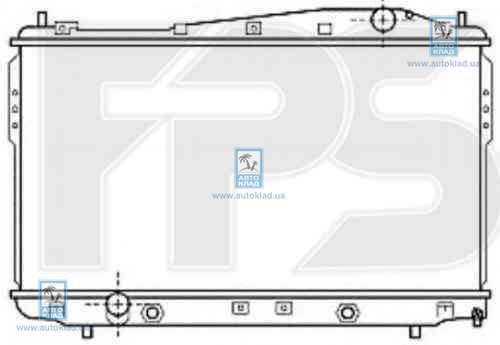 Радиатор охлаждения FPS 17A784X