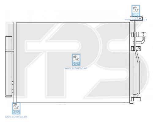 Радиатор кондиционера FPS 17K112X