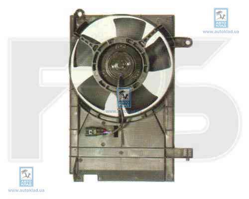 Вентилятор радиатора FPS 17W355
