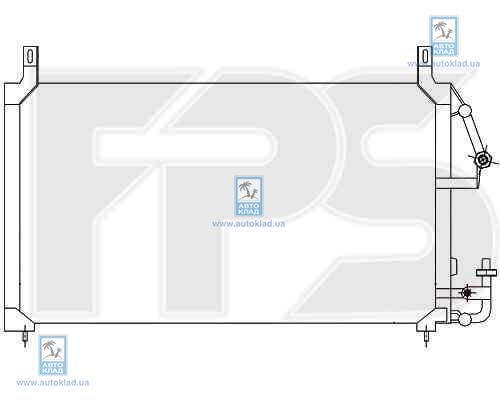Радиатор кондиционера FPS 22K309