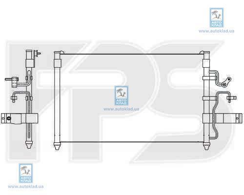Радиатор кондиционера FPS 22K310
