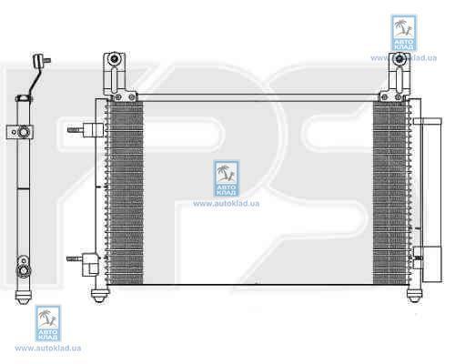 Радиатор кондиционера FPS 22K59X