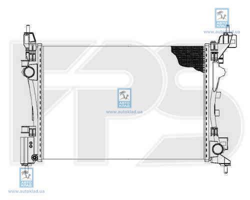 Радиатор охлаждения FPS 26A143X