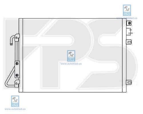 Радиатор кондиционера FPS 27K460