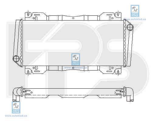 Радиатор охлаждения FPS 28A151