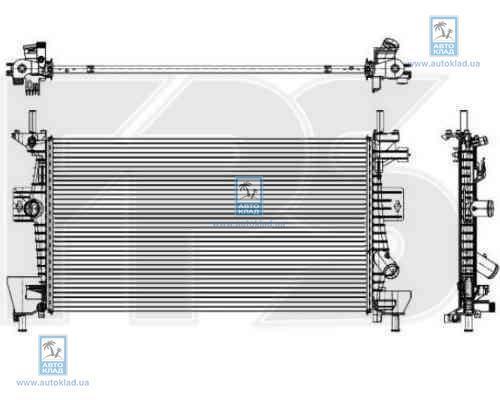 Радиатор охлаждения FPS 28A853X
