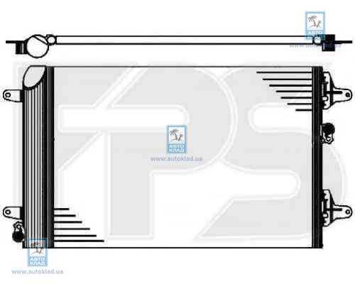 Радиатор кондиционера FPS 28K200