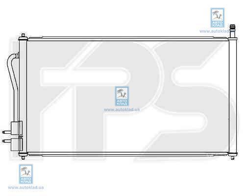 Радиатор кондиционера FPS 28K72