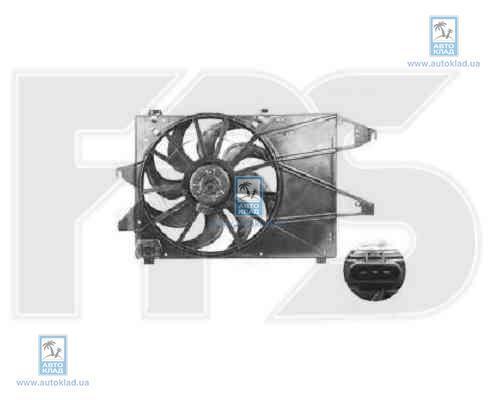 Вентилятор радиатора FPS 28W156