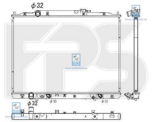 Радиатор охлаждения FPS 30A199X
