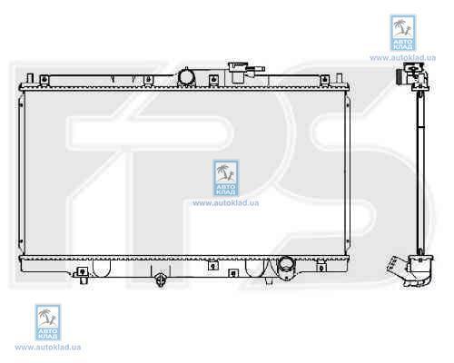 Радиатор охлаждения FPS 30A586X