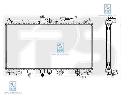 Радиатор охлаждения FPS 30A951X