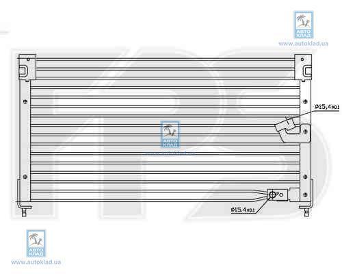 Радиатор кондиционера FPS 30K03