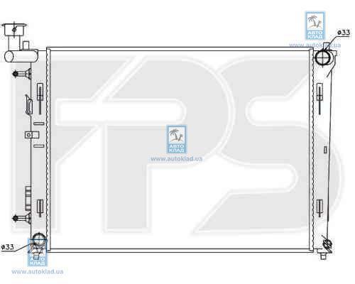 Радиатор охлаждения FPS 32A1438X