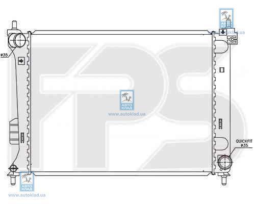 Радиатор охлаждения FPS 32A45X