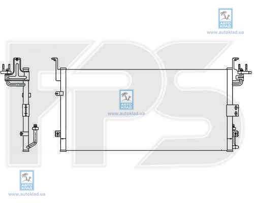 Радиатор кондиционера FPS 32K295X