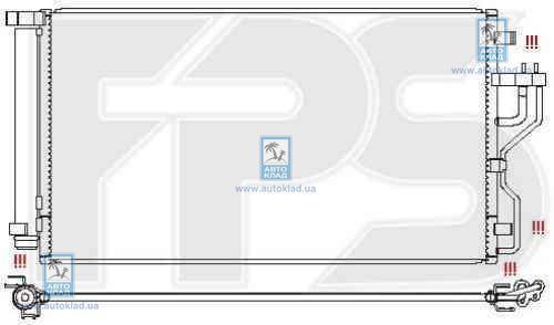 Радиатор кондиционера FPS 32K45X