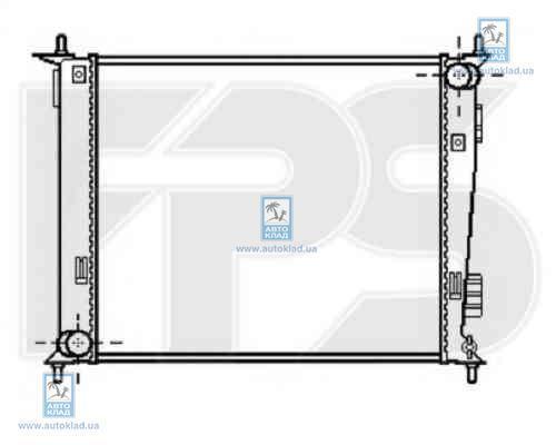 Радиатор охлаждения FPS 40A131X