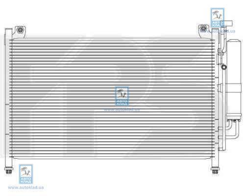 Конденсор кондиционера FPS 44K159