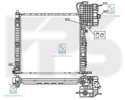 Радиатор охлаждения FPS 46A1009