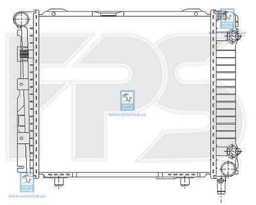 Радиатор охлаждения FPS 46A208X