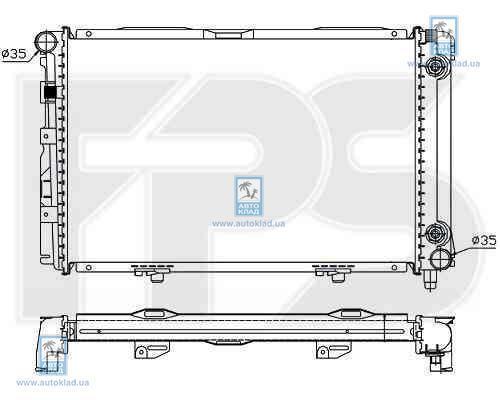 Радиатор охлаждения FPS 46A220X