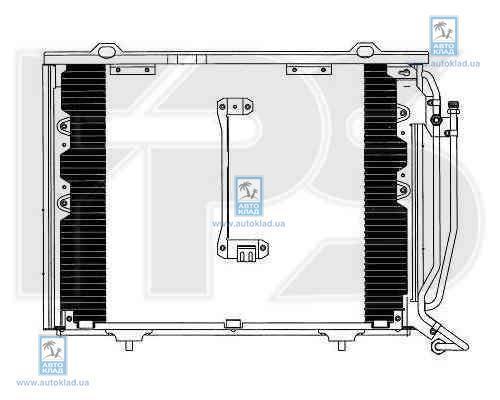Радиатор кондиционера FPS 46K100