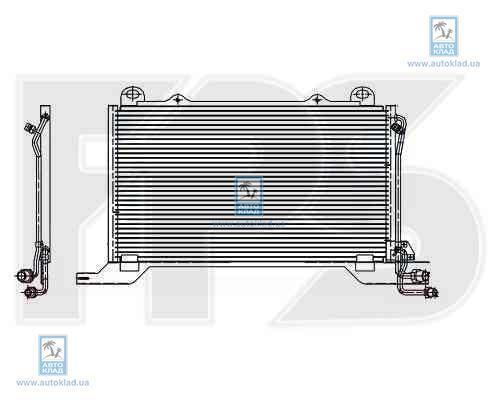Радиатор кондиционера FPS 46K93