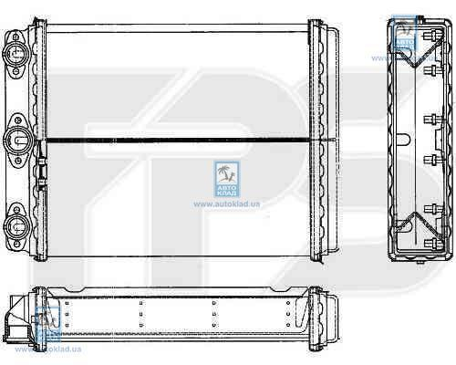 Радиатор отопителя салона FPS 46N120