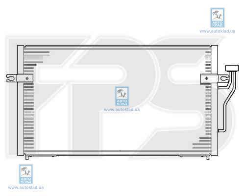Радиатор кондиционера FPS 48K249X
