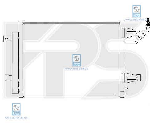 Радиатор кондиционера FPS 48K362