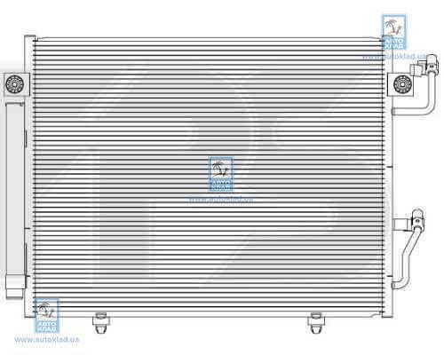 Радиатор кондиционера FPS 48K492X