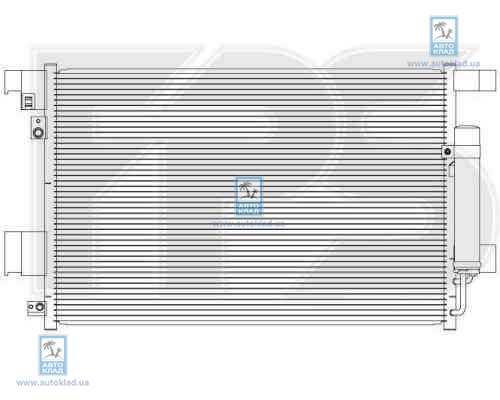 Радиатор кондиционера FPS 48K500