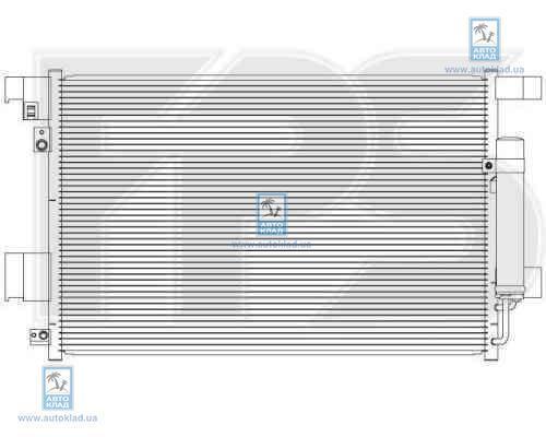 Радиатор кондиционера FPS 48K500X