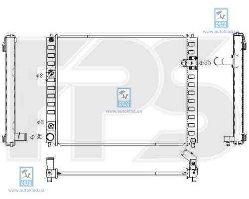 Радиатор охлаждения FPS 50A344X