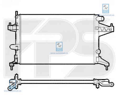 Радиатор охлаждения FPS 52A1079X