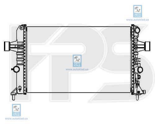 Радиатор охлаждения FPS 52A1085X