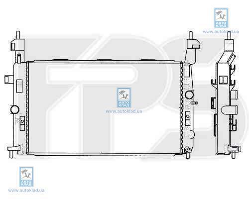 Радиатор охлаждения FPS 52A311X