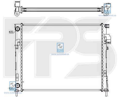 Радиатор охлаждения FPS 52A981X