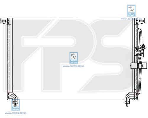 Радиатор кондиционера FPS 52K123