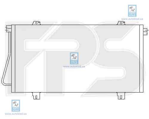 Радиатор кондиционера FPS 52K429