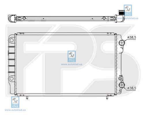 Радиатор охлаждения FPS 56A749X
