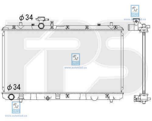 Радиатор охлаждения FPS 68A96X