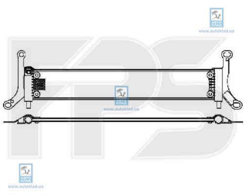 Радиатор охлаждения FPS 74A1209X